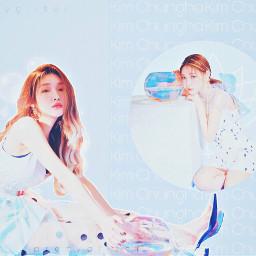 lollyswatercontest kimchungha chungha soloist soloartist
