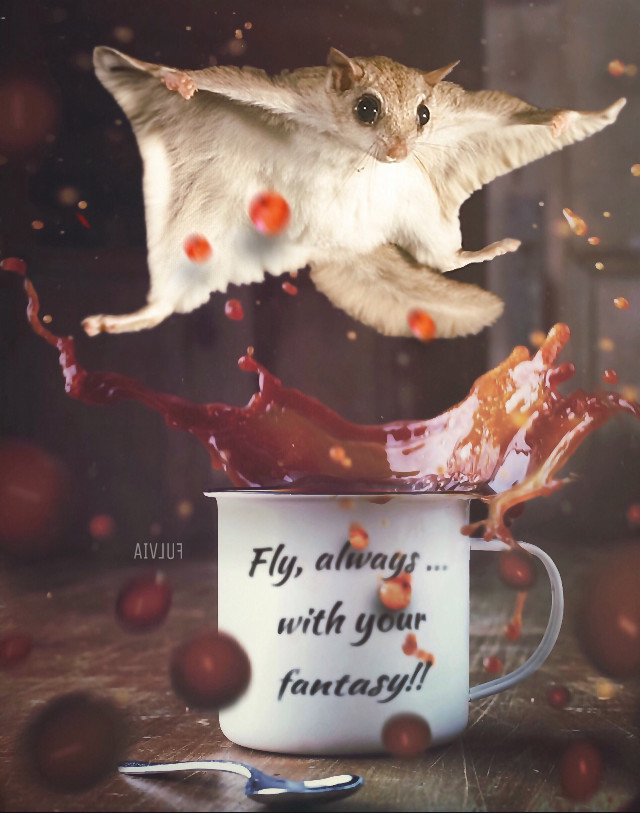always keep alive your fantasy  😂🤗🍃🐿☕️.. a magical Friday to everyone !!❤️🦋🤗  https://youtu.be/q0hyYWKXF0Q  🎶🎶  2 op by Undplash edited by me @lillobalillo   #doubleexposure #madewithpicsart #edited #editedwithpicsart #fantasy #animallover #clonetool #blureffect #picsarteffects #texture #myedit