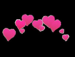 freetoedit hearts heart crown tiara ftestickers