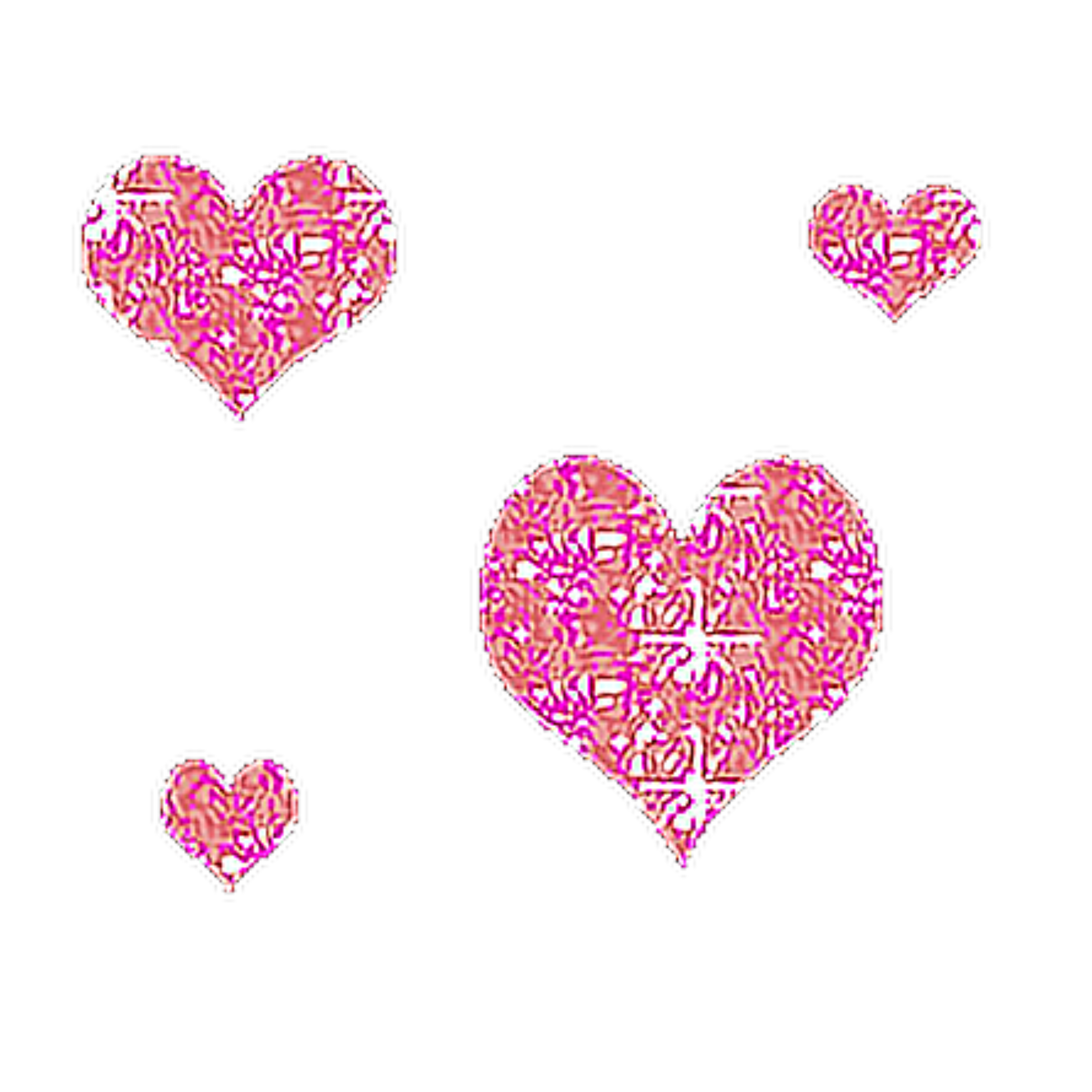гиф анимашка розовое сердечко
