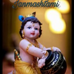happyjanmashtami janmashtami krishna india hindu freetoedit