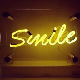 aesthetic yellow yellowaesthetic smile glowingwriting