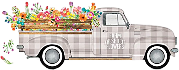 truck flowers antique vintage classic freetoedit