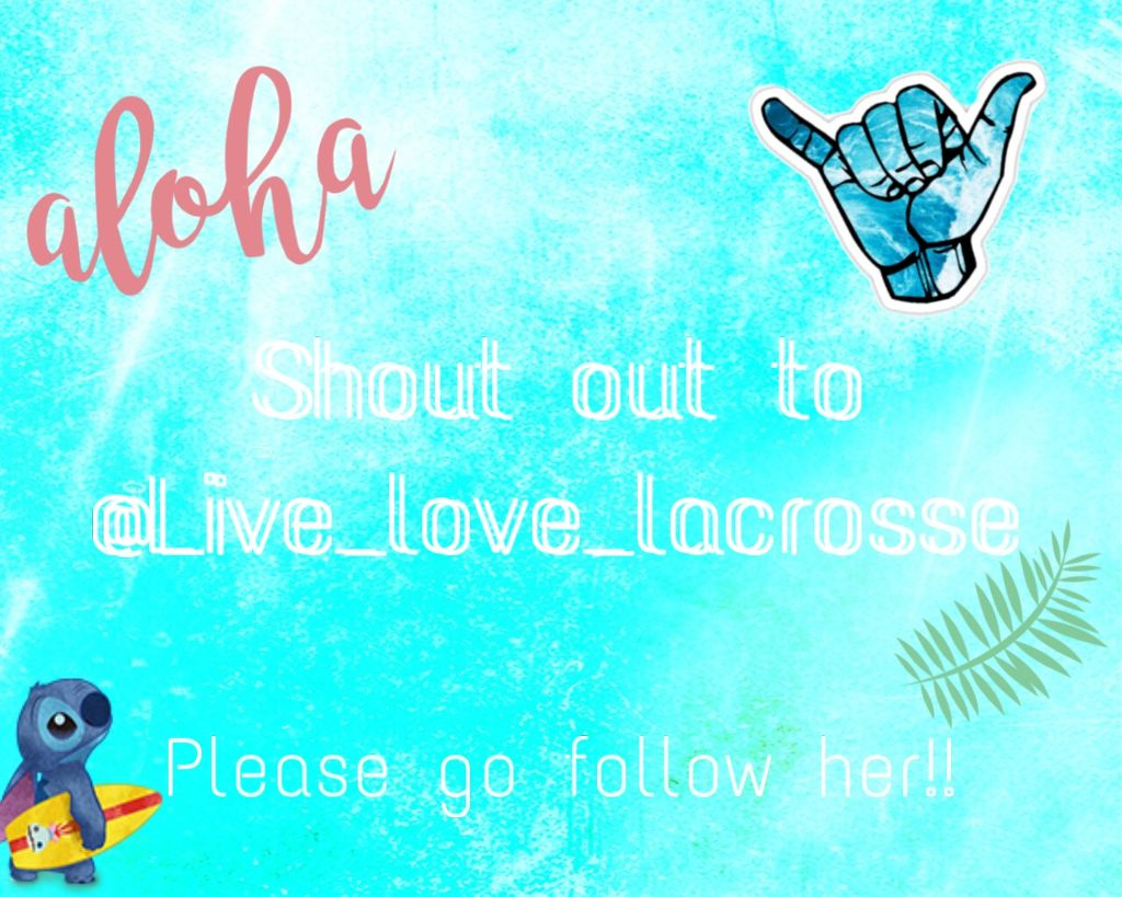 #freetoedit @live_love_lacrosse Please fo follow her she deserves way more followers then what she has her work is amazing 🌹 Bella 🌹