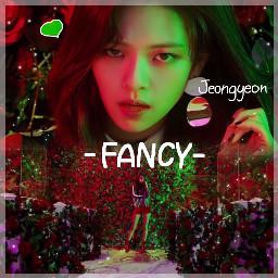 twice twicejeongyeon fancy