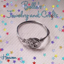 ring silvertone swirl jewelry jewelrymaking