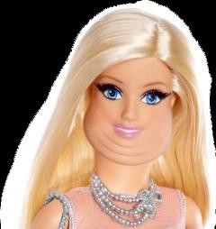 barbie fat strange bitch freetoedit