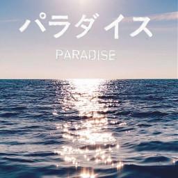 freetoedit paradise vhstapes oceaneyes