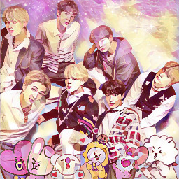 bts army loveyouself animation freetoedit