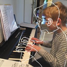 piano wonderful follow like heart freetoedit