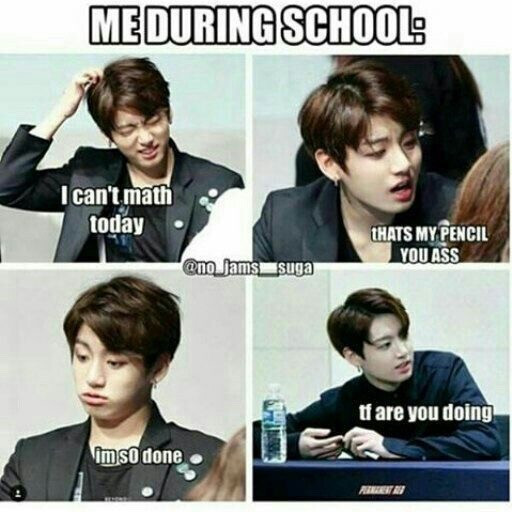 #backtoschool #btsmeme Hewo guys sooo...i might not post for some while, i start school next week 😭but jungkkookies bday is almost here so....ill post for his bday! 💗 - MOAARMY