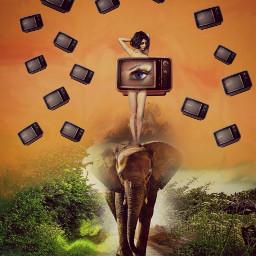 freetoedit tv myedit awesome surrealart