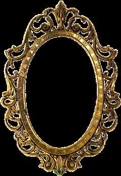 frame golden ornate gold freetoedit