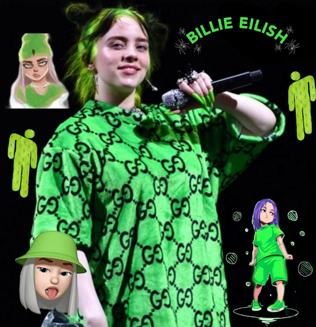 Ive been into Billie's mood lately.. #billieeilish #billieeilishedits #green