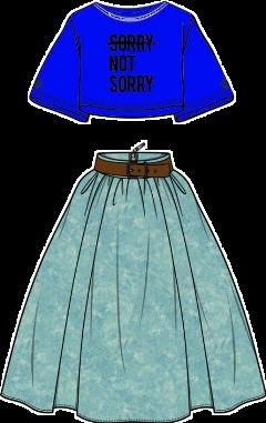 ropa blusa falda boutique accessories stickersfreetoedit freetoedit