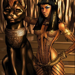 flawless goddess ancksunamun egyptian queen themummy sexy strong confident fearless mood seeme tylercairnsart deviantart mymind myeye bchez edit