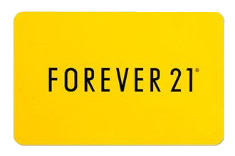 forever21 giftcard yellow forever21giftcard gift freetoedit