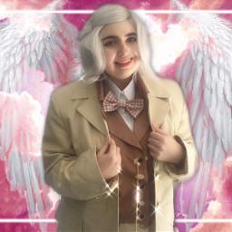cosplay aziraphale goodomens michaelsheen angel