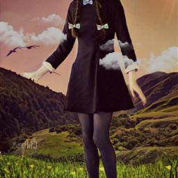 freetoedit girl srcbowtie bowtie