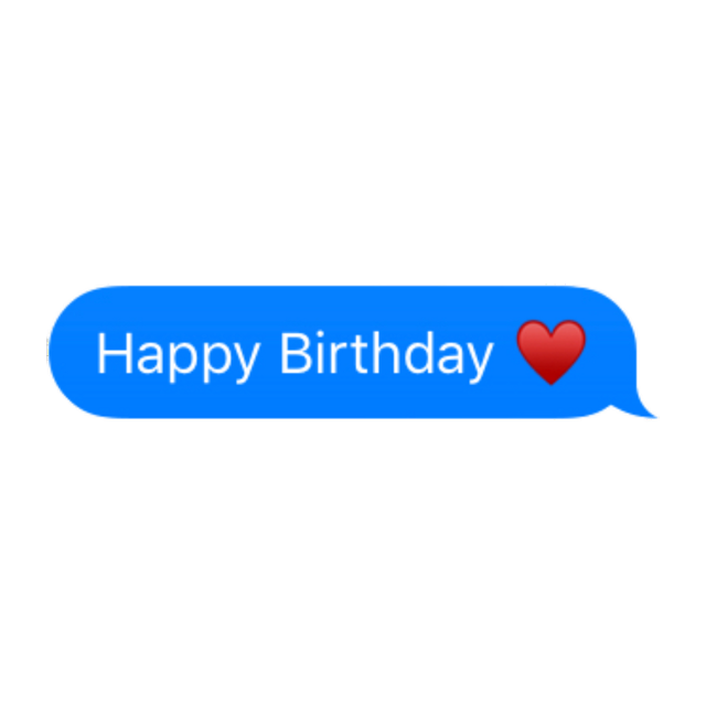 #Happy #Birthday #message #imessage #happybirthday #freetoedit