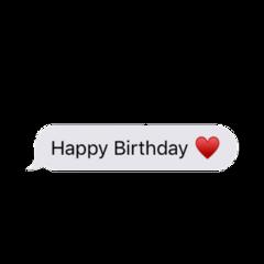 happy birthday message imessage happybirthday freetoedit
