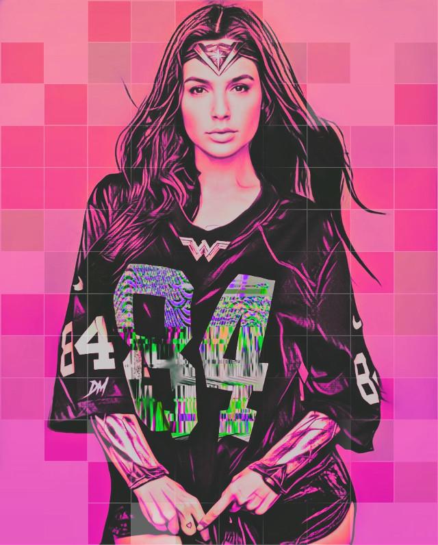 #wonderwoman #wonderful #galgadot #comics #dc #artistic #popart