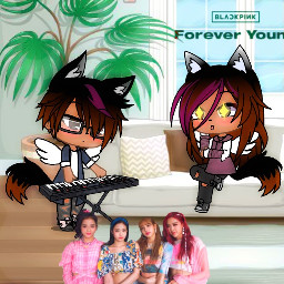 gacha foreveryoung blackpink music blink freetoedit