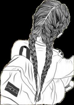 freetoedit backtoschool sketch girldrawing