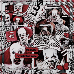 pennywise pennywise2017 pennywise1990 it horror freetoedit