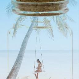 ircbeachtime beachtime freetoedit bottlecap beach