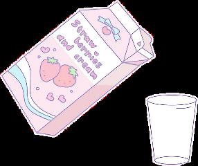 milk pink pastel milkshake aesthetic freetoedit