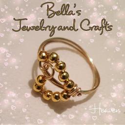 ring silvertone swirl heart jewelry