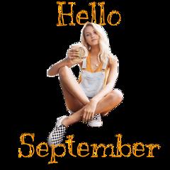 freetoedit hello september september2019 sticker