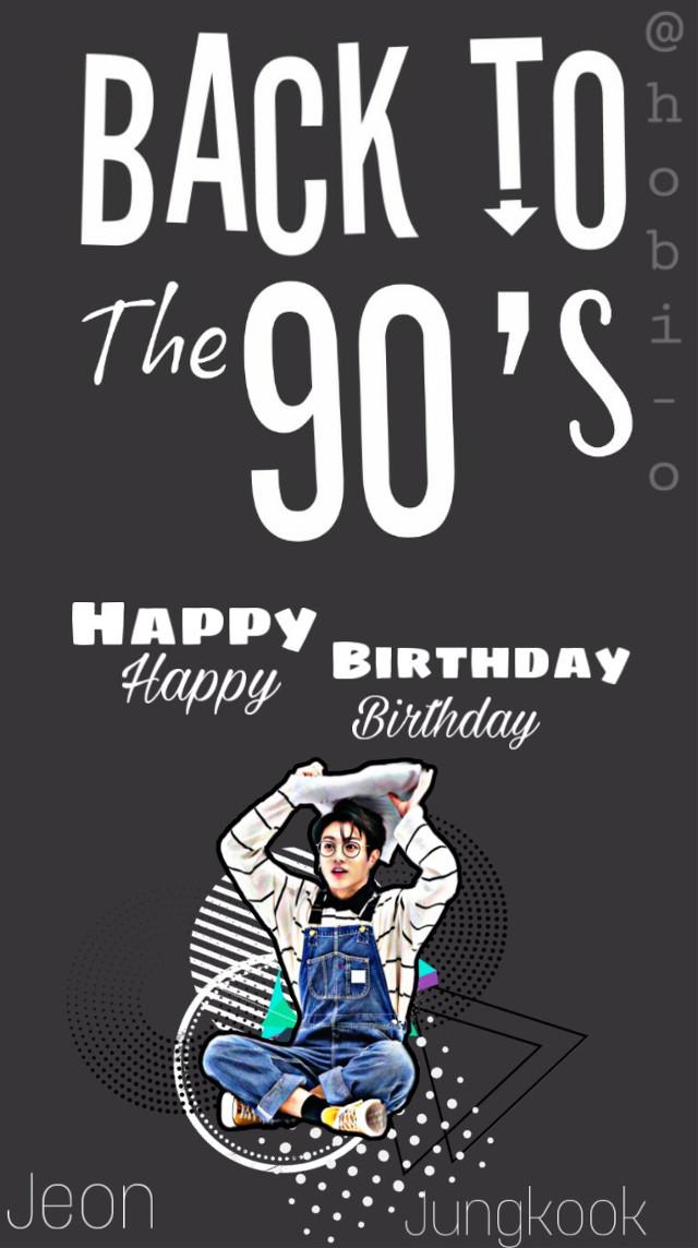 Happy Birthday Jungkookie!   #jungkook #bts #jungkookie #kookie #bangtanseonyeondan #happybirthday #your22now #september1  #freetoedit