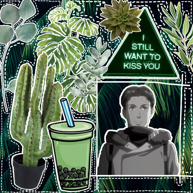 #freetoedit #marco #green #aesthetic #aot #snk