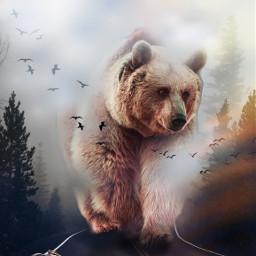 ecgiantanimals giantanimals freetoedit beard oso