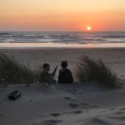 freetoedit beach sunset summer pnw