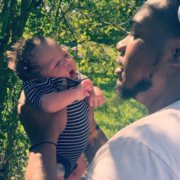 baby daddy dad father happiness freetoedit