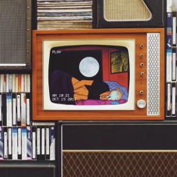 iloveyou vintage tv summertime single freetoedit