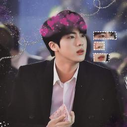 freetoedit jin kimseokjin prince bts