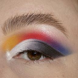 freetoedit primarycolors cutcrease colorful makeup