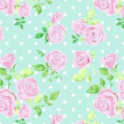 freetoedit polkadots flowers watercolor wallpaper