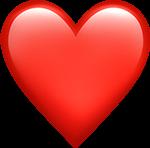#iphone #iphoneemojis #iphoneemoji #emoji #heart #redheart #iphoneheart #red #love
