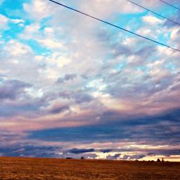 sky beauty telephone sunset sun freetoedit