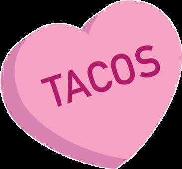 #heart #love #tacos #text #word