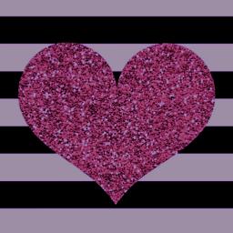 freetoedit wallpaper stripes glitter heart