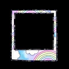 freetoedit rainbow радуга космос розовый