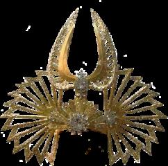 egyptian headdress gold pharaoh freetoedit