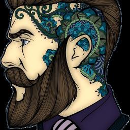 man bearded beard freetoedit scbeard
