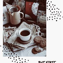 butfirstcoffee coffee drink vintage freetoedit